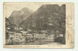 VALSTAGNA - PANORAMA DAL PONTE  VIAGGIATA FP - Vicenza