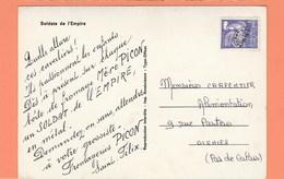 PREO N°119 SUR CARTE PUB FROMAGERIES PICON SAINT FELIX FROMAGE MERE PICON SOLDATS DE L'EMPIRE - 1953-1960