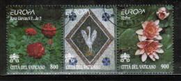 CEPT 1999 VA MI 1277-78 USED VATICAN - Europa-CEPT