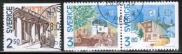 CEPT 1990 SE MI 1589-91 USED SWEDEN - 1990
