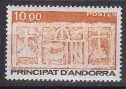 Andorra Fr. 1985 Definitive 1v ** Mnh (40657A) - Frans-Andorra