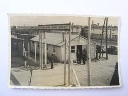 Carte Photo Calonne Lievin Entrée Du Camp De Prisonniers De Guerre - Lievin