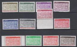 Andorra Fr. 1983/ ** Definitives 12v ** Mnh (40657B) - Frans-Andorra