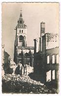 CPA : AMIENS Rue Du Chapeau De Violettes - Ruines De Guerre - Amiens