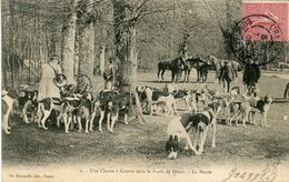 CHASSE A COURRE(VENERIE) DREUX - Chasse