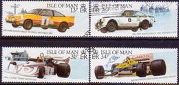 ISLE OF MAN 1988 SG 361-64 Compl.set Used Motor Sport - Isle Of Man