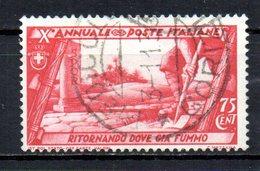ITALIA 1932 CANCELLED - 1900-44 Vittorio Emanuele III