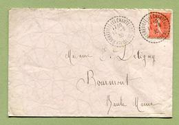 HARREVILLE-LES-CHANTEURS  (52)  1930 - Marcophilie (Lettres)