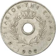 Monnaie, Grèce, 10 Lepta, 1966, TB+, Aluminium, KM:78 - Grèce