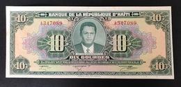HAITI P242A 10 GOURDES 17.8.1979 UNC - Haïti