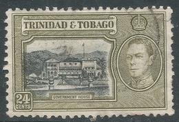 Trinidad & Tobago. 1938-44 KGVI. 24c Used. SG 253 - Trinidad & Tobago (...-1961)