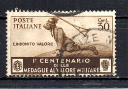 ITALIA 1934 CANCELLED - 1900-44 Vittorio Emanuele III