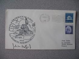 Lettre Explorations Polaires Des USA 1978 Opération Deep Freeze Antarctic Arctic South North Pole  à Voir - Poststempel
