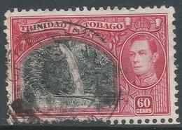 Trinidad & Tobago. 1938-44 KGVI. 60c Used. SG 254 - Trinidad & Tobago (...-1961)