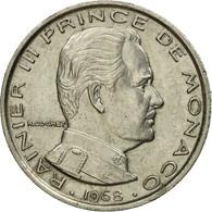 Monnaie, Monaco, Rainier III, Franc, 1968, TTB, Nickel, Gadoury:MC 150, KM:140 - Monaco