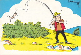 CPA - HUMOUR - PECHE - Sans Légende - Illustrateur Harvec - Humour