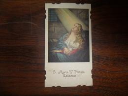 IMAGE PIEUSE /   SAINTE  AGATA - Religion &  Esoterik