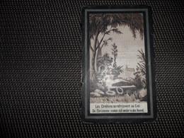 Doodsprentje ( D 511 )  Van Dycke / Lowagie -  Diksmuide  Dixmude  1898 - Décès