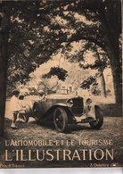 Automobile L'illustration L'automobile Et Le Tourisme Salon De L'automobile 1925 Du 3 Octobre 1925 - Boeken, Tijdschriften, Stripverhalen