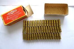 BOITE DE 50 CARTOUCHES .38 SPECIAL SMITH & WESSON WAD CUTTER GÉVELOT NEUTRALISÉES. - Decorative Weapons