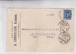 A CONDEOLEON A. ENVELOPE CIRCULEE CIRCA 1929 EGYPTE TO FRANCE - BLEUP - Egypte