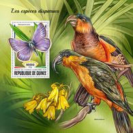 GUINEA 2018 - Extinct Species S/S. Official Issue - Prehistorisch