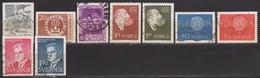 1960: Schweden Mi.Nr. 455,457,458 U. 461-466 Gest. (d803) / Suede Y&T No. 446,448,449 + 452-457 Obl. - Schweden