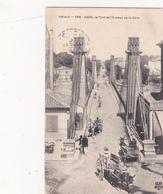 CPA (34) AGDE Le Pont Et L' Avenue De La Gare - Agde
