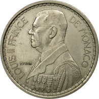 Monnaie, Monaco, Louis II, 20 Francs, Vingt, 1947, Poissy, TTB, Copper-nickel - Monaco