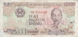 BANCONOTA VIETNAM 2000 VF (Z1520 - Vietnam