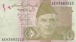 BANCONOTA PAKISTAN 10 VF (Z1524 - Pakistan