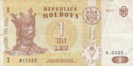 BANCONOTA MOLDOVA 1 LEU VF (Z1525 - Moldavia