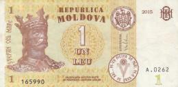 BANCONOTA MOLDOVA 1 LEU VF (Z1526 - Moldavia