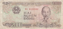 BANCONOTA VIETNAM 2000 VF (Z1536 - Vietnam
