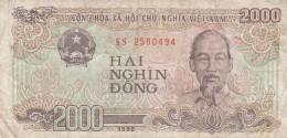 BANCONOTA VIETNAM 2000 VF (Z1537 - Vietnam