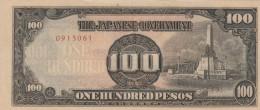 BANCONOTA GIAPPONESE 100 PESOS XF (Z1544 - Giappone