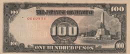 BANCONOTA GIAPPONESE 100 PESOS XF (Z1545 - Giappone