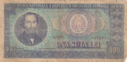 BANCONOTA ROMANIA 100 LEI VF (Z1549 - Romania