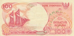 BANCONOTA INDONESIA 100 RUPIAH VF (Z1550 - Indonésie