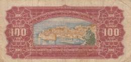 BANCONOTA JUGOSLAVIA 100 DINARA-VF (Z1553 - Jugoslavia