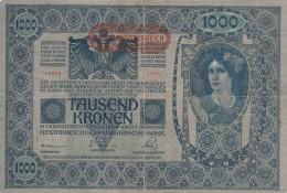 BANCONOTA AUSTRIA 1000 CORONE VF (Z1554 - Austria