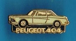 PIN'S //  ** MYTHIQUE / PEUGEOT 404 ** . (Helium Paris) - Peugeot