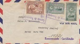 LETTERA 1949 DA VENEZUELA PER ITALIA TIMBRI ARRIVO (Z1583 - Venezuela