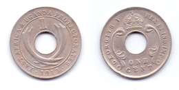 East Africa & Uganda Protectorates 1 Cent 1913 - Africa Orientale E Protettorato D'Uganda