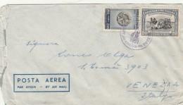 LETTERA 1951 DA PANAMA PER ITALIA - TIMBRO VENEZIA (Z1613 - Panama