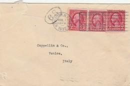 LETTERA 1932 DA USA PER ITALIA TIMBRO NEW YORK VENEZIA - STRAPPI (Z1639 - Stati Uniti