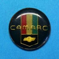 PIN'S //  ** CHEVROLET / CAMARO ** - Corvette