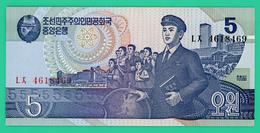 5 Won  - Corée Du Nord - 1992 - N° LX1618469 - Neuf - - Corée Du Nord