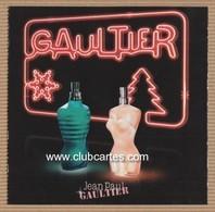 CC Carte Parfumée RABAT 5x5 'JPG' JEAN PAUL GAULTIER' #1618 Perfume Card - Modern (from 1961)