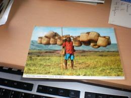 Basket Seller Kabale District Uganda  Kenya Air Mail - Oeganda
